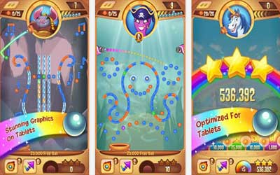 Peggle Blast 2.0.1 Screenshot 1