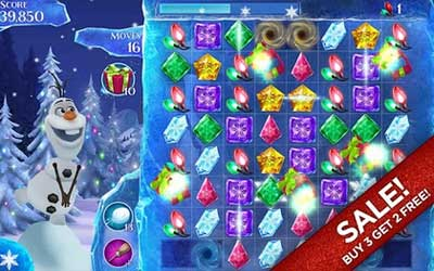 Frozen Free Fall 2.7 Screenshot 1