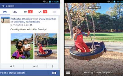 Facebook Lite 1.3.0.5.11 Screenshot 1