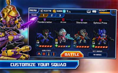 TRANSFORMERS: Battle Tactics 1.0.5 Screenshot 1