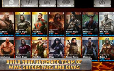 WWE Immortals 1.0.2 Screenshot 1