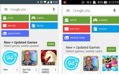 Google Play Store 5.5.8 Screenshot 1