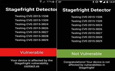 Stagefright Detector 3.0 Screenshot 1